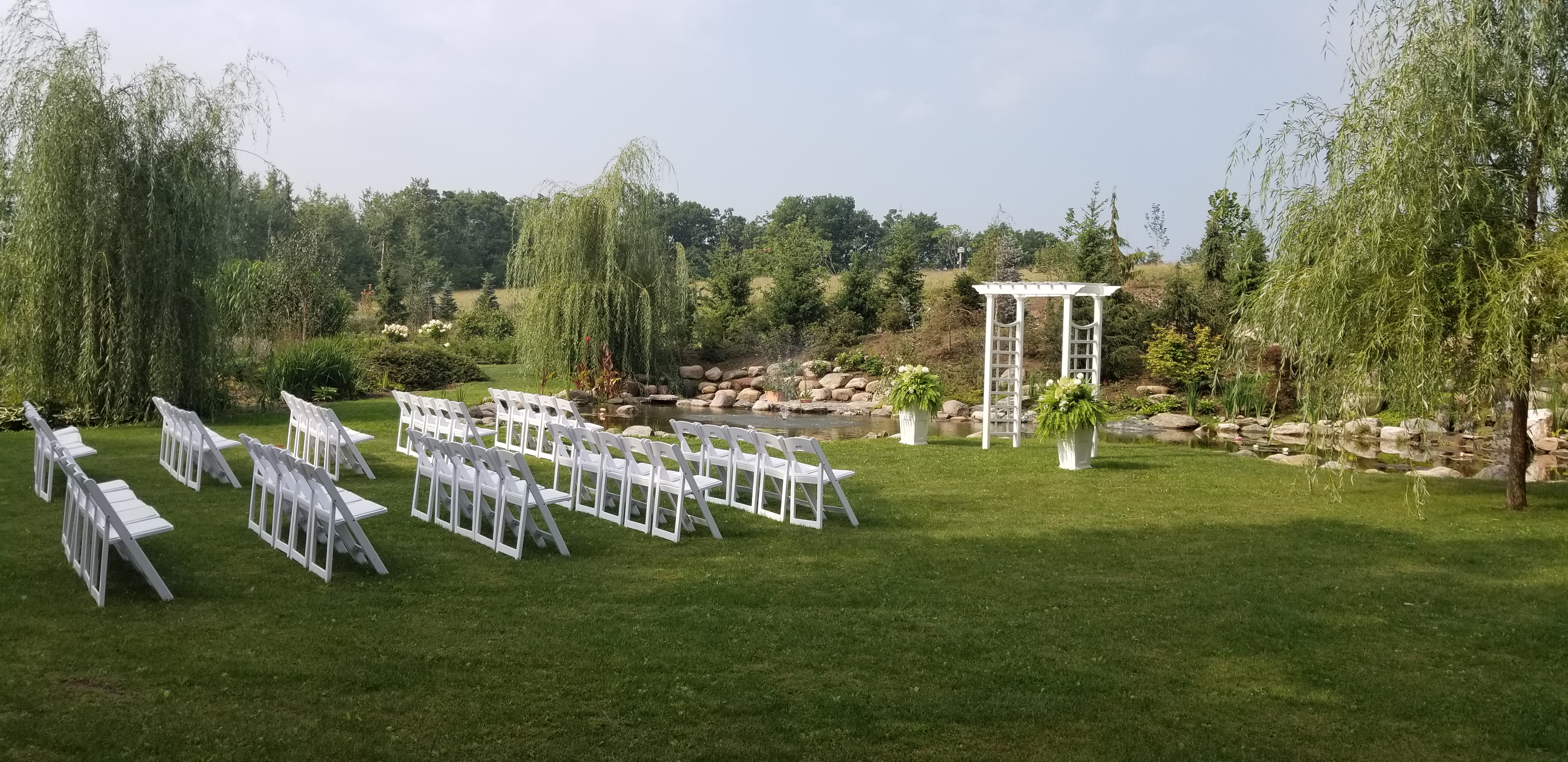 Meadow View Gardens Outdoor Ceremony