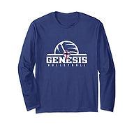 V Long Sleeve T-Shirt - BlueWhite2.jpg