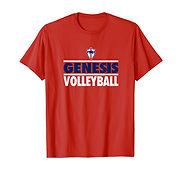 V T-Shirt - RedBlueWhite.jfif