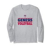 V Long Sleeve T-Shirt - GrayBlueRed.jpg