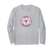V Long Sleeve T-Shirt - GrayWhiteRed.jpg