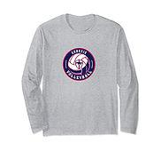 V Long Sleeve T-Shirt - GrayBlueWhite2.j