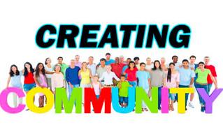 'Discipleship' series : Creating Community Part 1