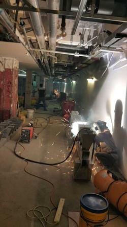 銅鑼灣名店坊鉛水玻璃槽工程|Fashion Walk CWB