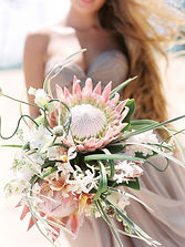 Seaside Soirees and Weddings Beach Wedding Flowers Ceremony Florals Bridesmaid Bouquet Bouquets