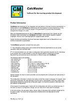 CH CM Calculate Masster I A&A Consultant