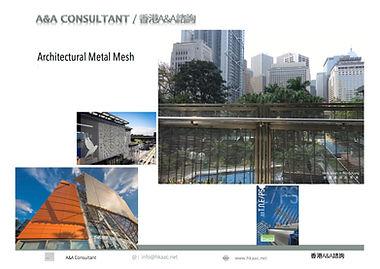 Architecutural Mesh | A&A Consultant