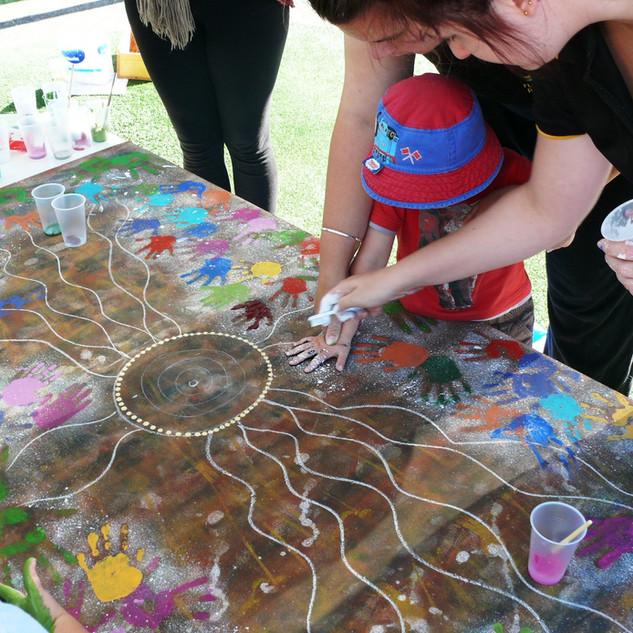 Flutterbys Daycare mural