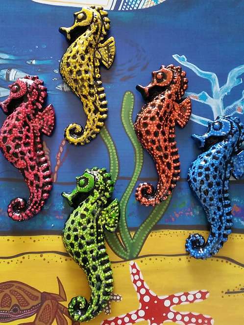 Seahorse Wall Plaques