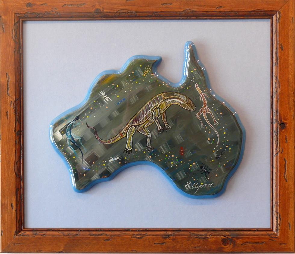 Aboriginal Maps by Billyara