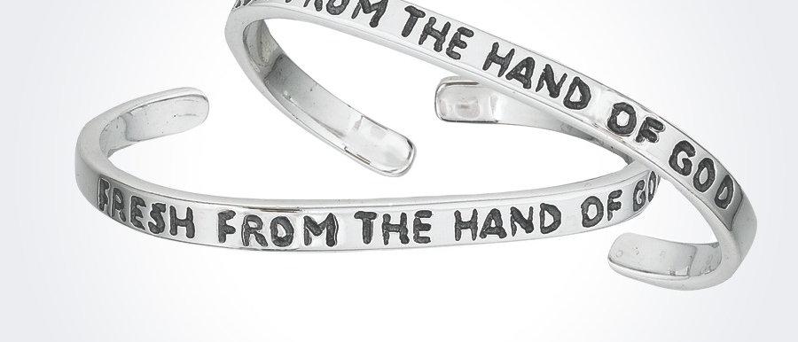 Fresh From The Hand of God Baby Bracelet