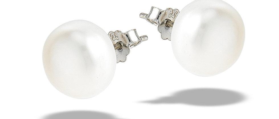 12mm Pearl Stud Earrings