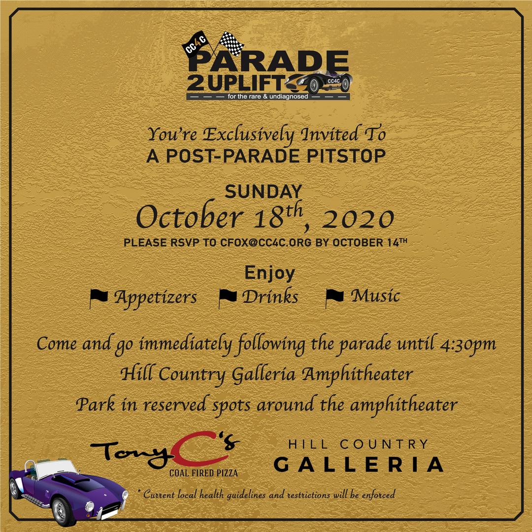 Parade VIP Invite