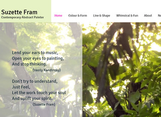 A whole new look for my website