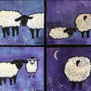 Four Little Sheep