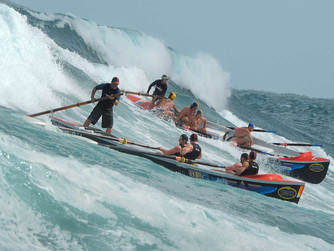 Australian Surf Boats Recover from a Dive