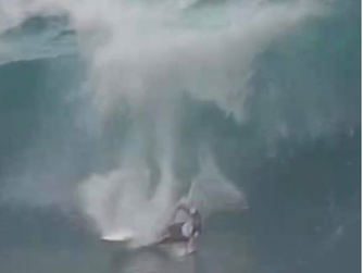 Riley is Recovering from his Injury at Pipe