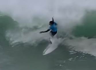 Mark Twain Marveled at a Surfer's Speed / In the 2019 WSL Bells Beach Pro Nose Rocker Kills Spee