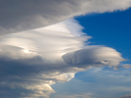 How to eliminate standing lenticular clouds