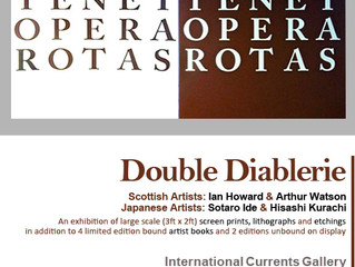 Double Diablerie : Opening Reception September 20th