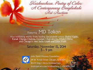 Krishnachura, Poetry of Color: A Contemporary Bangladeshi  Art Auction