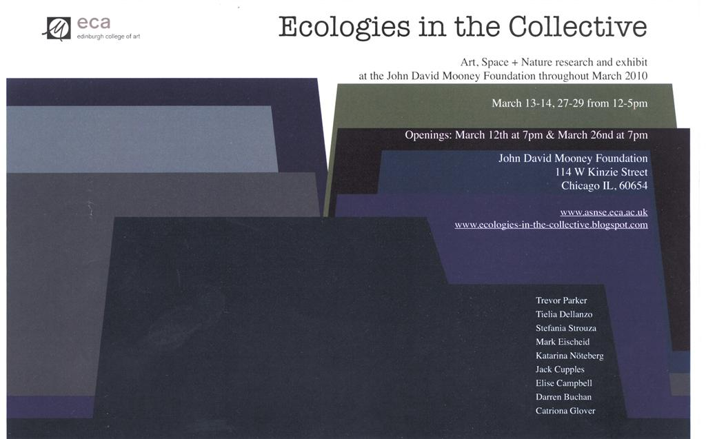 Ecologies in the Collective