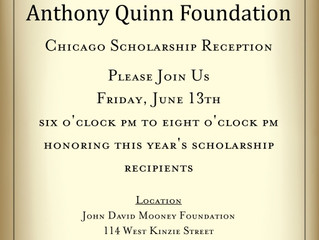 Anthony Quinn Foundation : Chicago Scholarship Reception