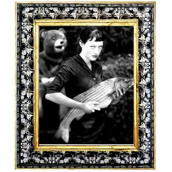 Fish Monger's Daughter Framed