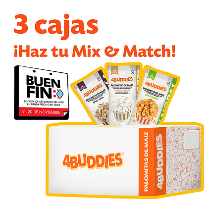 Paquete 3 cajas BUEN FIN 2020
