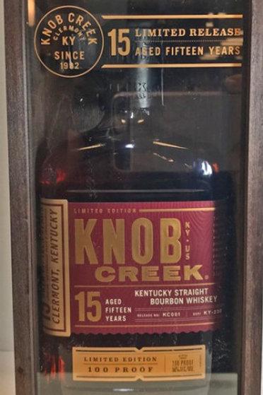 Knob Creek 15 Years