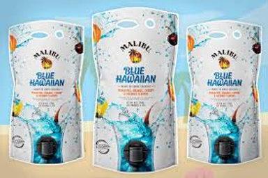 MALIBU COCKTAIL POUCH BLUE HAWAIIAN
