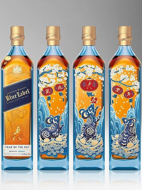 JOHNNIE WALKER BLUE-YEAR OF THE RATS