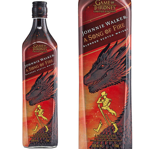 GAME OF THRONES JOHNNIE WALKER- SONG OF FIRE