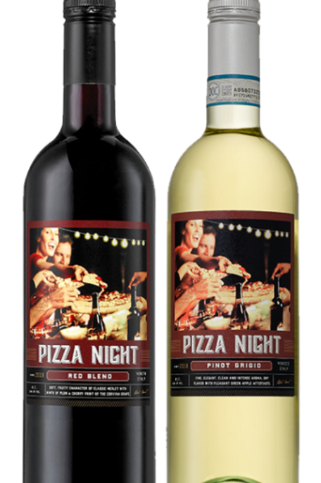 THEME WINE-PIZZA NIGHT RED BLEND