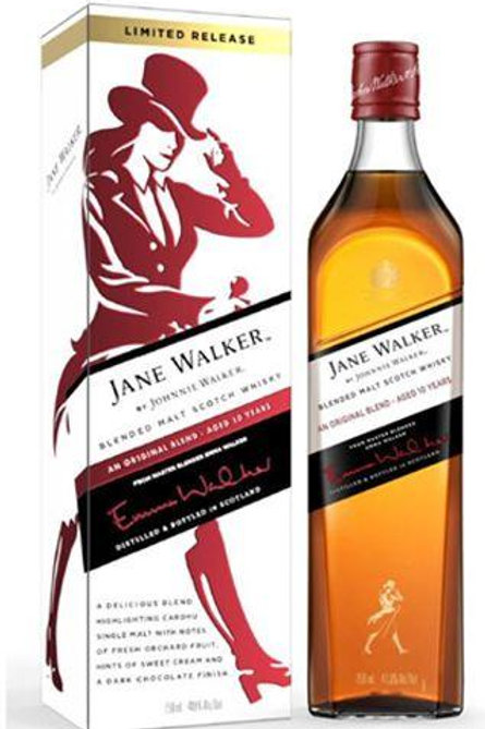 JOHNNIE WALKER JANE WALKER 10 YEARS