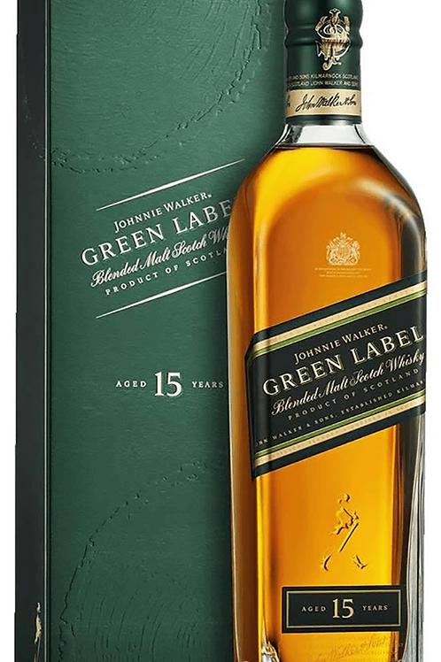 JOHNNIE WALKER GREEN LABEL 15YR