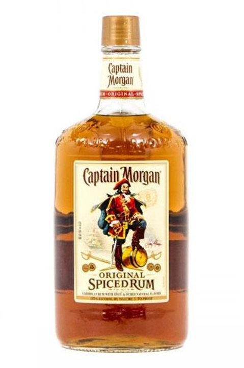 CAPTAIN MORGAN SPICED RUM 100 Proof