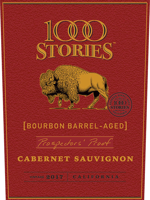 1000 STORIES BOURBON BARREL CAB. SAUV.