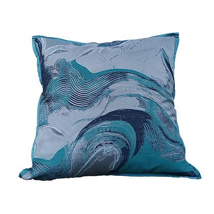 Mar Bling Cushion Blue