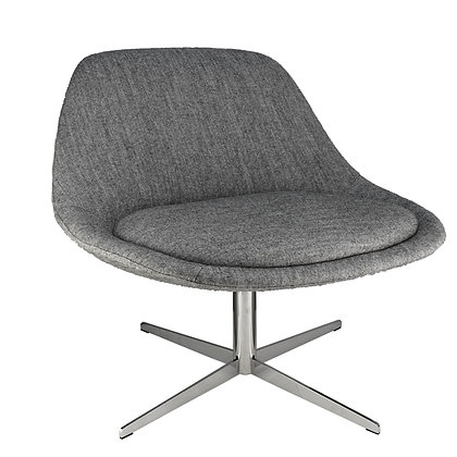 Vicky Lounge Chair Grey