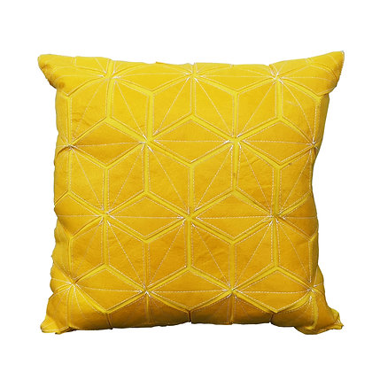 Hock Cushion Yellow