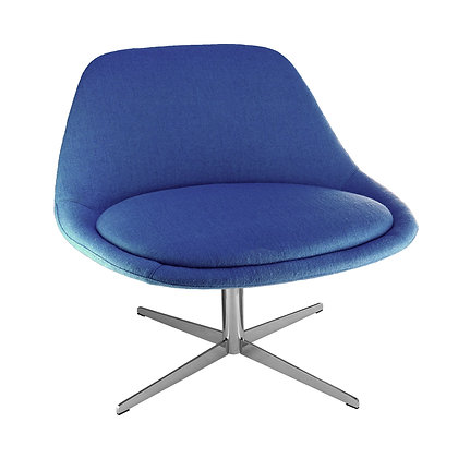 Vicky Lounge Chair Blue