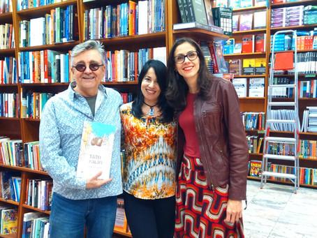 Lançamento do livro Tatu-Balão em São Paulo