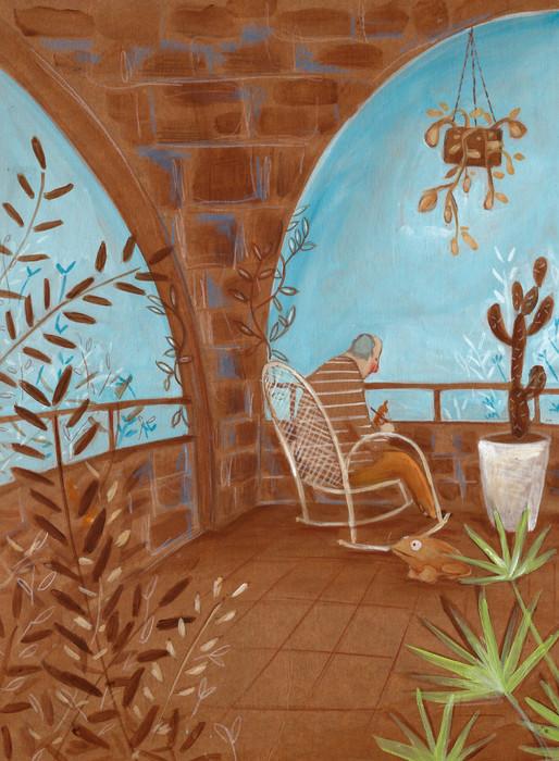 Varanda - O Jardim do Kitangu