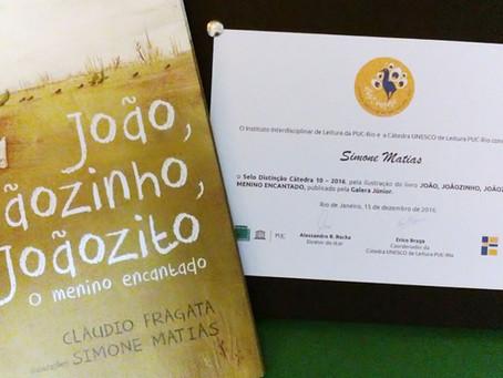 João, Joãozinho, Joãozito ganha Selo Cátedra