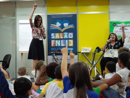 17º edição do Salão FNLIJ do livro  para crianças e jovens