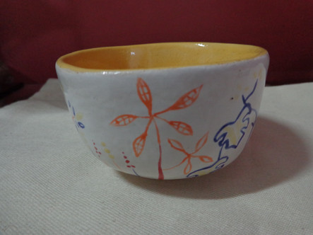 Cumbuca de cerâmica Jardim