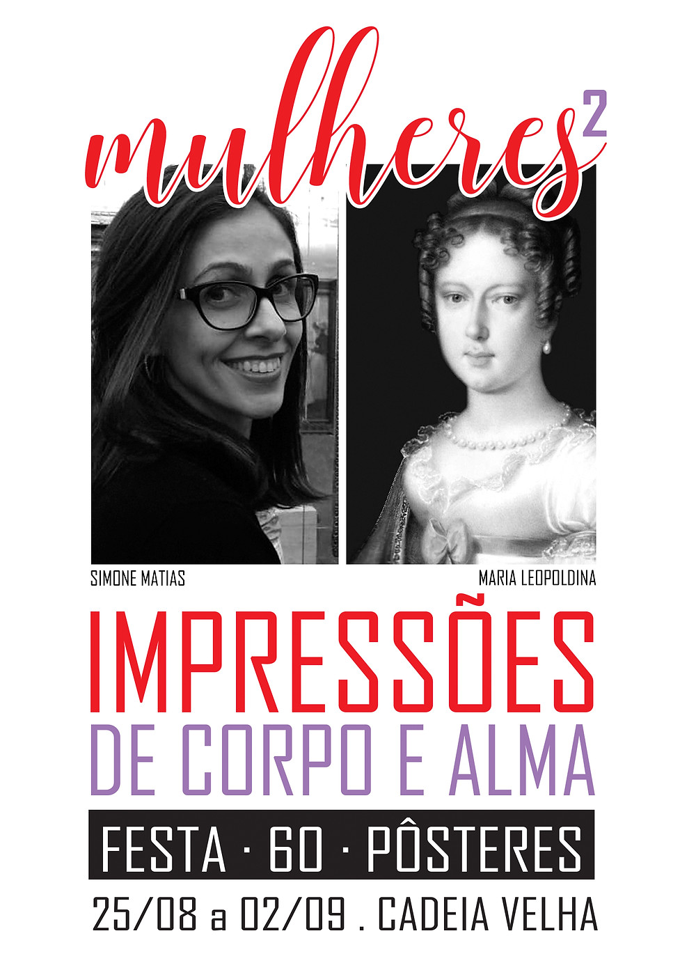 Exposição Mulheres Impressões de Corpo e Alma