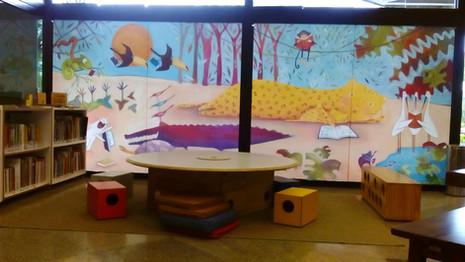 Biblioteca infantil Sesc Santos