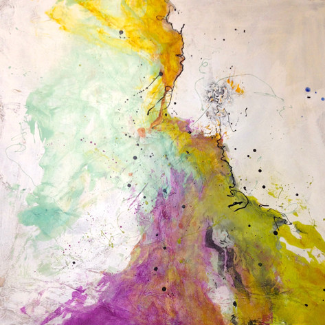 """CHARTREUSE 40"""" X 40"""""""